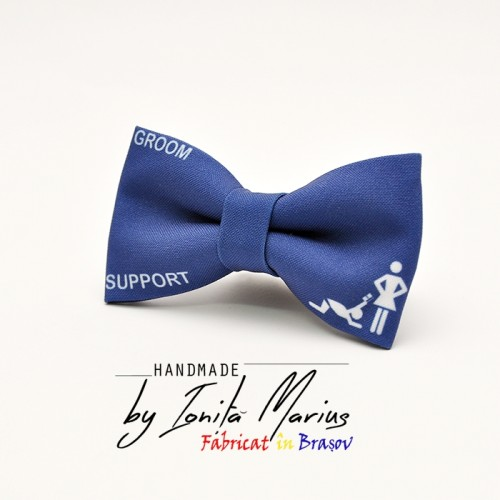 Papion personalizat Groom Support