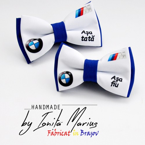Set papion personalizat  model BMW